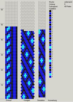 Schlauchketten häkeln - Musterbibliothek: pat_bcr_28_gd