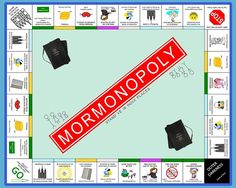 Mormonopoly-what an awesome idea for YW or FHE!
