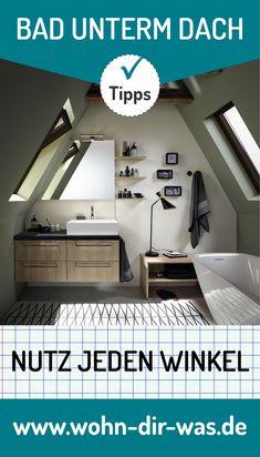 113 besten badezimmer mit dachschr ge bilder auf pinterest for Badideen unterm dach