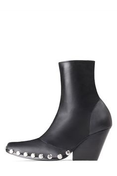 Jeffrey Campbell Shoes WALTON-ST Heels in Black Silver