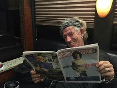 Keith Richards (Rolling Stones) in San Diego. May 24, 2015