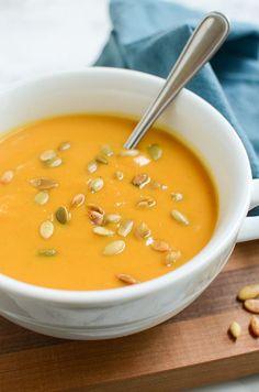 Autumn Squash Soup (
