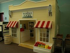 Lilliput Play Homes Custom Children's Playhouses Blog: Commercial Playhouses