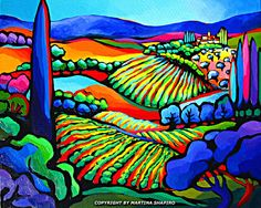 Vineyard Expression by Martina Shapiro