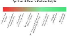 Spectrum of Views on Customers Insights