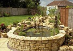 raised pond on pinterest ponds garden ponds and koi ponds ForKoi Pond Builders Greenville Sc