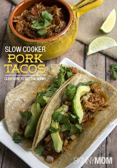 If you're looking to put a new twist on tacos, try mixing up your filling by using pork!