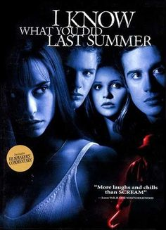 The camera is to your left, Ryan Phillippe! Pay attention.   Community Post: The Art Of '90s Slasher Movie Posters