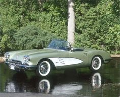 The 1960 Corvette featured a revised suspension that gave it greater handling…