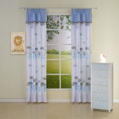 Novelty Country Blue Kids Curtains  #curtains #decor #homedecor #homeinterior #blue Blue Kids Curtains, Country Blue, Neoclassical, Nursery, Sailing, Home Decor, Candle, Neoclassical Architecture, Decoration Home