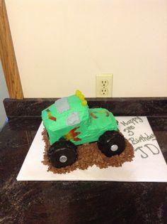JD 3rd birthday cake