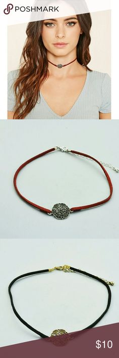 Noho suede choker Blend n burnt orange available Jewelry Necklaces