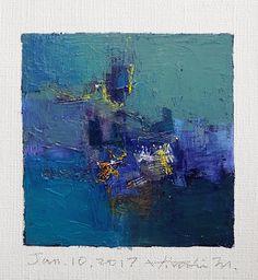 Il sagit de ma nouvelle peinture à lhuile originale complétée aujourdhui. Peinture à lhuile est très lente à sécher, il faut environ une semaine à sécher et à expédier de mon studio. Je vous remercie, Hiroshi 10 janvier 2017 -------------------------------------------------------------------------------------------- Il sagit dune peinture à lhuile abstraite Original par Hiroshi Matsumoto Titre : 10 janvier 2017 Taille : 9,0 cm x 9,0 cm (env. 4 « x 4 ») Taille du canevas : 14,0 cm x 14,0 c...