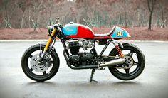 "The ""Tricore"" by Studio Motor | Inazuma café racer"
