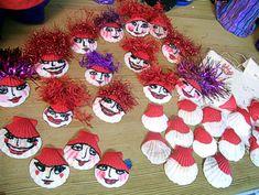 Shell Girls in Progress: Red Hatter Style!