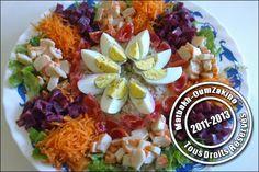 Salade composée  ( idée présentation)