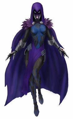 Tali - Raven by spaceMAXmarine Comic Manga, Anime Manga, Comic Art, Dnd Characters, Female Characters, Marvel Dc, Raven Teen Titans Go, Dc Comics, Starfire And Raven