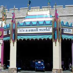 its a small world after all at the Magic Kingdom - Bella makes us ride this at least twice each trip - OK, I like it too :)