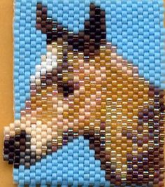 peyote stitch horse - Yahoo Image Search Results
