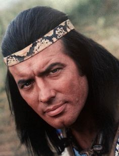 Pierre Brice Winnetou apache Native American Men, American Indians, American Art, Western Film, Western Movies, May Movie, Native Country, Cult Movies, Native Indian