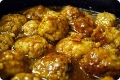 Give meatballs a fun twist with a tangy ginger sauce brimming with flavor. This easy dish uses your crockpot and your favorite jarred sauces to make a great appetizer or main dish for your entertaining needs. Easy to make gluten free, too!