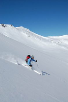 Backcountry powder skiing in the San Juan's.