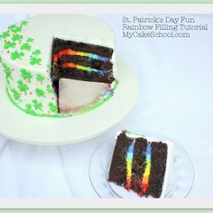 Learn to make a rainbow filling on the inside! Fun for St. Patrick's Day or rainbow themed parties! ;0)