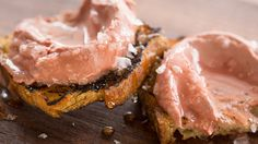 Chicken Liver Paté | Creamy, buttery chicken liver paté—serve up a gorgeous rose-colored smear of the stuff on grilled bread, drizzle with honey, and top with mounds of flaky salt. Eat and repeat.