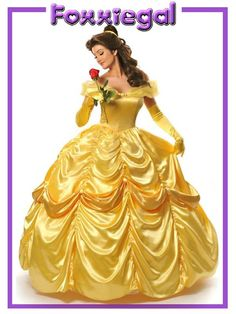 Deluxe Belle Beauty AND THE Beast Disney Movie Theme Costume Size 8 10  b0833efc0c