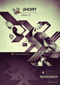 Conceptual Posters / Short Film Fest by Martín Liveratore, via Behance