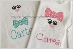 Custom Bunny Face Easter TShirt  Personalized by SewCloseToTheEdge, $24.00