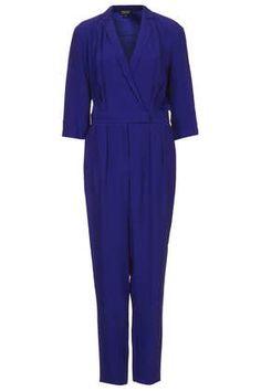 Wickel-Jumpsuit im Pyjama-Stil