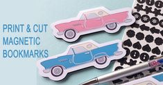 Print & Cut Magnetic Bookmarks or Page Markers