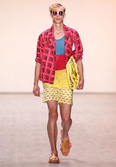 Julian Zigerli Show - Mercedes-Benz Fashion Week Spring/Summer 2015 Andy Wolf, Mercedes Benz, Fashion Art, Berlin Fashion, Magazine Art, Spring Summer 2015, Menswear, How To Make, Collection