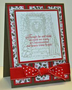 Home for Christmas 3-panel by OregonStamper - Cards and Paper Crafts at Splitcoaststampers