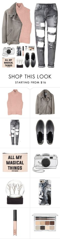 """""""howling dogs"""" by martosaur ❤ liked on Polyvore featuring Diesel Black Gold, Acne Studios, ASOS, Forever 21, Kate Spade, Casetify, NARS Cosmetics, Clinique, Just Acces and women's clothing"""