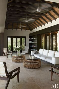 Contemporary Living Room and Wolfgang Ludes and Johannes Zingerle in St. Barts