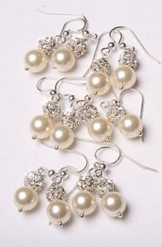 bridesmaid earrings!
