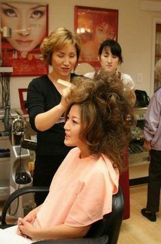 Teased Hair, Big Hair, Salons, Stylists, Hair Cuts, Boys, Style, Hair Highlights, Hair Growth