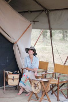 Tips on traditional african fashion 294 Style Board, Tent Living, Vintage Safari, Campaign Furniture, Tent Design, Out Of Africa, African Fashion, African Outfits, African Style