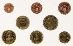 Japan 2001, 1 cents to 2 euros, course coining set in the Ausgabeblister, St.    Dealer  Dr. Reinhard Fischer Auktionen    Auction  Minimum Bid:  200.00EUR