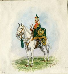 British; 5th Royal Irish Lancers, Kettledrummer by R.Simkin