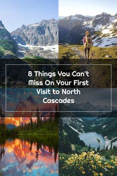 8 Things You Can't Miss On Your First Visit to North Cascades North Cascades, Mountains, Canning, Nature, Travel, Naturaleza, Trips, Home Canning, Viajes