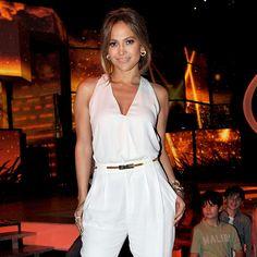 Jennifer Lopez in the Onda Earrings & Trisola Bangle