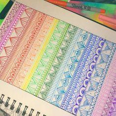 Ahora a color❤ Todo vale la pena si te hace reir Síganme mandando frases Doodle Art Drawing, Zentangle Drawings, Mandala Drawing, Mandala Painting, Pencil Art Drawings, Art Sketches, Zentangles, Mandala Doodle, Mandala Art Lesson