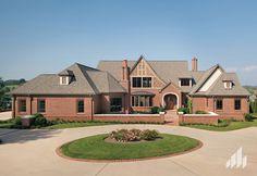 Jefferson Wade Tudor Brick - General Shale 2013 Homes Photo Gallery