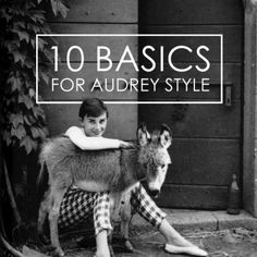 I don't care if it's 50's/60's fashion...Audrey is one of the most stylish people I've ever seen.