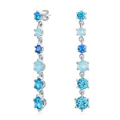 FB Jewels Solid Leslies Sterling Silver Radiant Essence Brushed Post Earrings