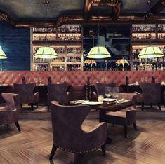 Koursaros Restaurant | Maria Kardami | Interior Designer Athens, Dining Table, Restaurant, Interior Design, Gallery, Projects, Furniture, Home Decor, Nest Design