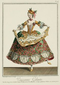 EKDuncan - My Fanciful Muse: Drama Queens - Opera Costumes from the time of Marie Antoinette Theatre Costumes, Ballet Costumes, Historical Costume, Historical Clothing, Mode Baroque, Costume Français, Rococo Fashion, 1900s Fashion, Toy Theatre